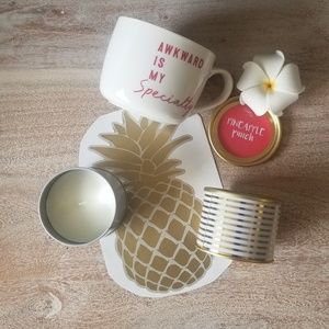 TIN PINAPPLE PUNCH SCENTED CANDLES